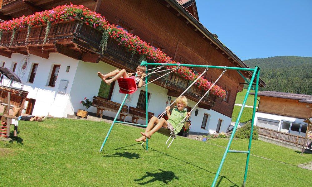 Urlaub auf dem Bauernhof - ideal für kleine Gäste