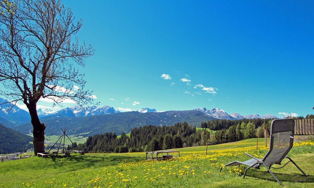 Visitate il maso Schmözlhof in primavera