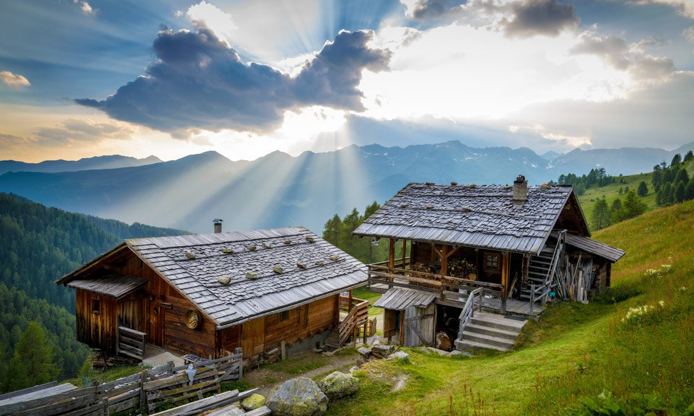 An active farm holiday – Autumn in the Pusteria Valley